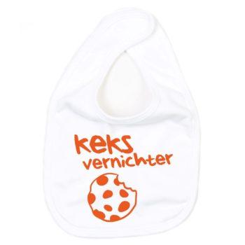 Baby Lätzchen - Keks Vernichter