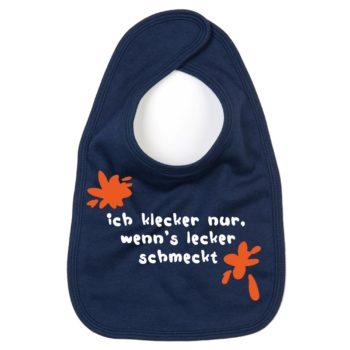 Baby Laetzchen - Ich klecker nur, wenn's lecker schmeckt!