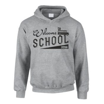 Kinder Hoodie - Welcome to school 2016