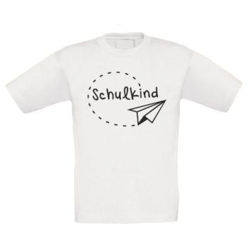 Einschulungsgeschenke - Kinder T-Shirt - Schulkind - Papierflieger