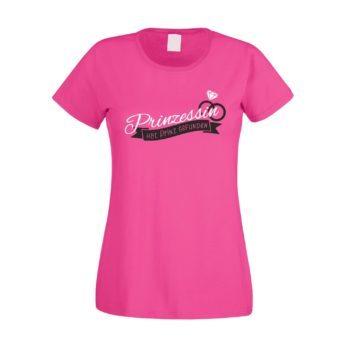 Damen T-Shirt - Prinzessin hat Prinzen gefunden