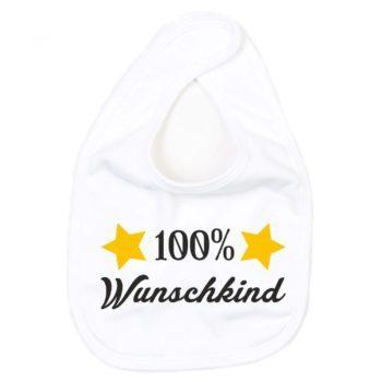 Baby Lätzchen - 100 Prozent Wunschkind