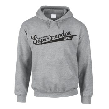 Herren Hoodie - The one true Supergrandpa