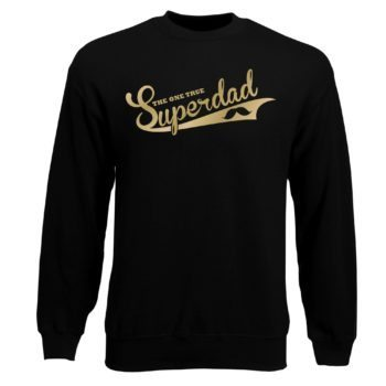 Herren Sweatshirt - The one true Superdad