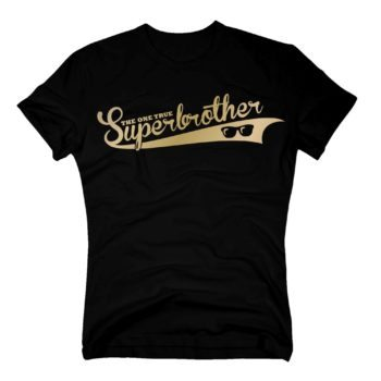 Geschenke für Brüder - Herren T-Shirt - The one true Superbrother