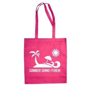 Jutebeutel Baumwolltasche - Sommer Sonne Ferien
