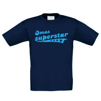 Kinder T-Shirt - Omas Superstar