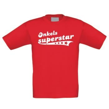 Kinder T-Shirt - Onkels Superstar