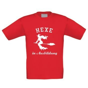 Kinder T-Shirt - Hexe in Ausbildung