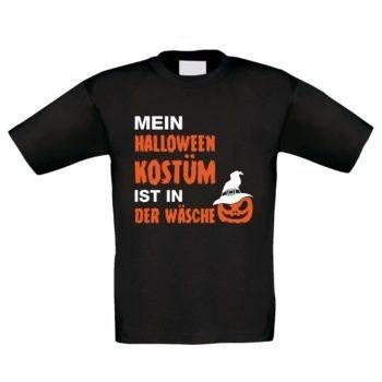 Kinder T-Shirt - Mein Halloween Kostüm ist in der Wäsche