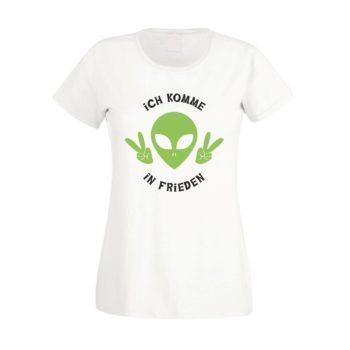 Peace - Damen T-Shirt - Ich komme in Frieden