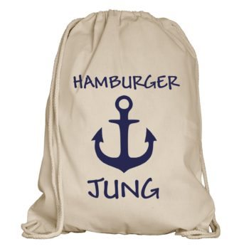 Hamburger Jung Turnbeutel