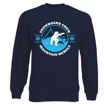 Herren Sweatshirt - Snowboard Crew - Mountain Rebels
