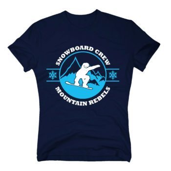 Herren T-Shirt - Snowboard Crew - Mountain Rebels