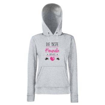 Damen Hoodie - Die beste Freundin der Welt