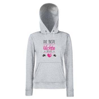 Damen Hoodie - Die beste Nichte der Welt