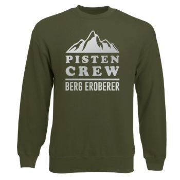 Herren Sweatshirt - Pisten Crew - Berg Eroberer