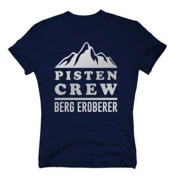 Herren T-Shirt - Pisten Crew - Berg Eroberer