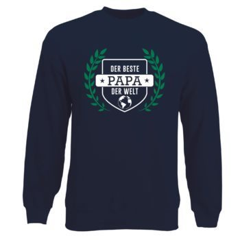 Herren Sweatshirt - Der beste Papa der Welt