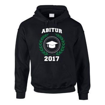 Herren Hoodie - Abitur 2017 - Wappen