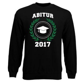 Herren Sweatshirt - Abitur 2017 - Wappen