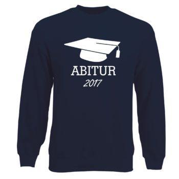 Herren Sweatshirt - Abitur 2017