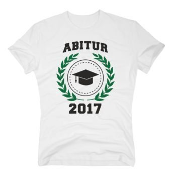 Herren T-Shirt - Abitur 2017 - Wappen