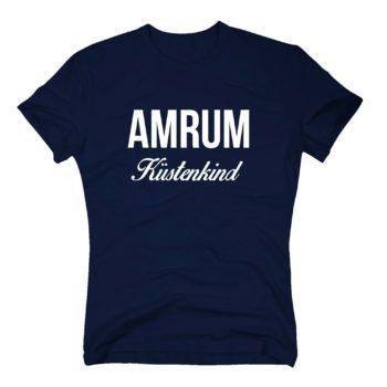 Herren T-Shirt - Amrum Küstenkind