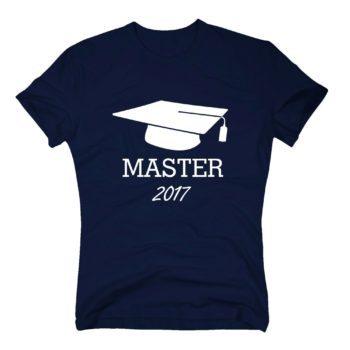 Herren T-Shirt Abschluss Master 2017