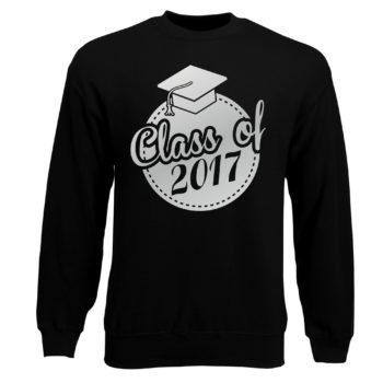 Herren Sweatshirt - Class of 2017