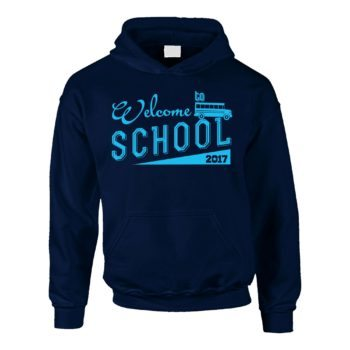 Kinder Hoodie - Welcome to school 2017