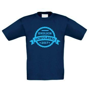 Kinder T-Shirt - Endlich Schulkind 2017