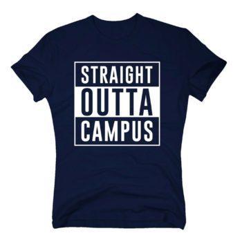 Herren T-Shirt - Straight outta Campus