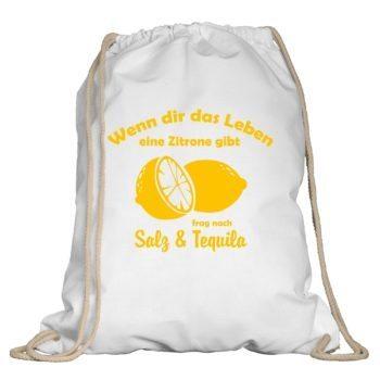Turnbeutel - Wenn dir das Leben eine Zitrone gibt