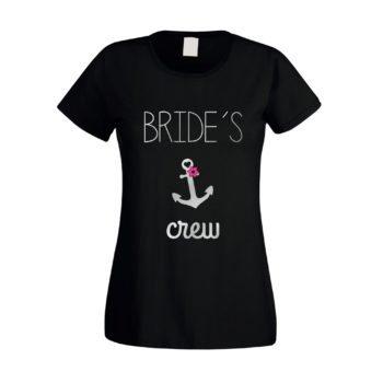 JGA Damen T-Shirt - Brides Crew Anchor