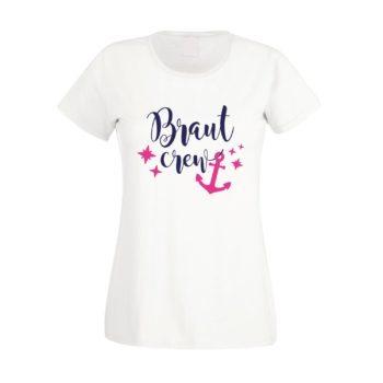 JGA Damen T-Shirt - Braut Crew