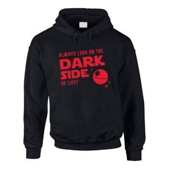 Herren Hoodie - Always look on the Dark Side of life