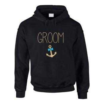 JGA Herren Hoodie - Groom Anchor