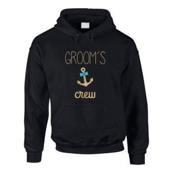 JGA Herren Hoodie - Groom's Crew Anchor