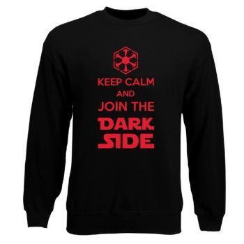 Herren Sweatshirt - Keep Calm and Join the Dark Side