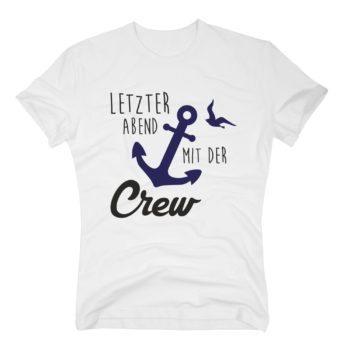 JGA Herren T-Shirt - Letzter Abend mit der Crew