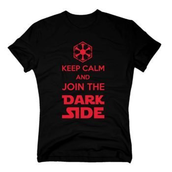 Herren T-Shirt - Keep Calm and Join the Dark Side