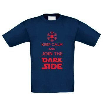 Kinder T-Shirt - Keep Calm and Join the Dark Side