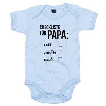 Baby Body - Checkliste für Papa