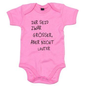 Baby Body - Ihr seid zwar grösser, aber nicht lauter