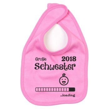 Baby Lätzchen - Große Schwester 2018 ...loading