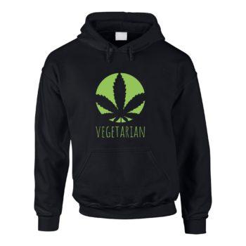 Veggie Herren Hoodie - Vegetarian