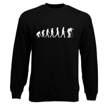 Herren Sweatshirt - Evolution Fotograf