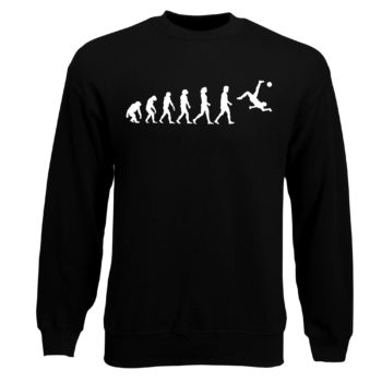Herren Sweatshirt - Evolution Fußball
