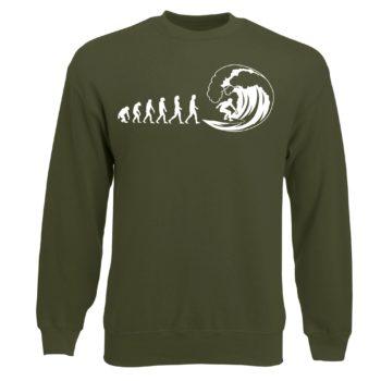 Herren Sweatshirt - Evolution Surfen